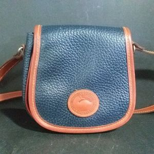 Dooney & Bourke All Weather Leather Blue Bag